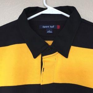 faac312e762 Sport-Tek Shirts   Sporttek Classic Long Sleeve Rugby Polo   Poshmark